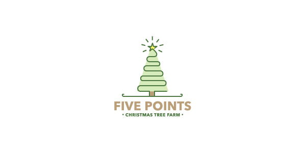 Best Christmas Logos for Inspiration (09)