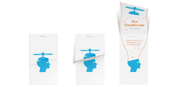 New Examples of Unusual Business Cards