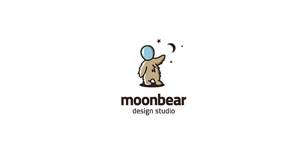 Moon Logo Design Examples for Inspiration (14)